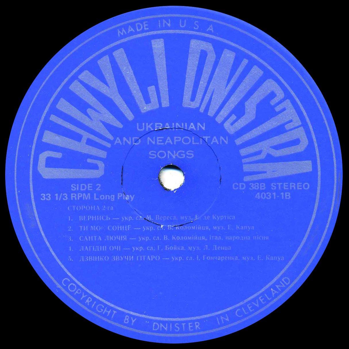 Chwyli Dnistra – CD-38