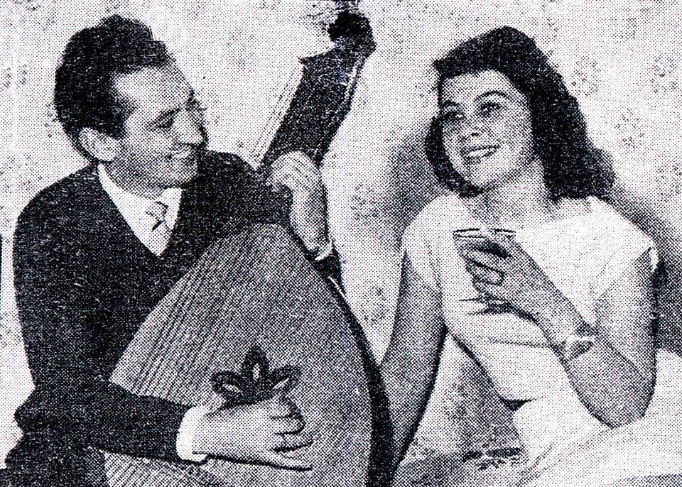 В. Луців з дружиною Лесею