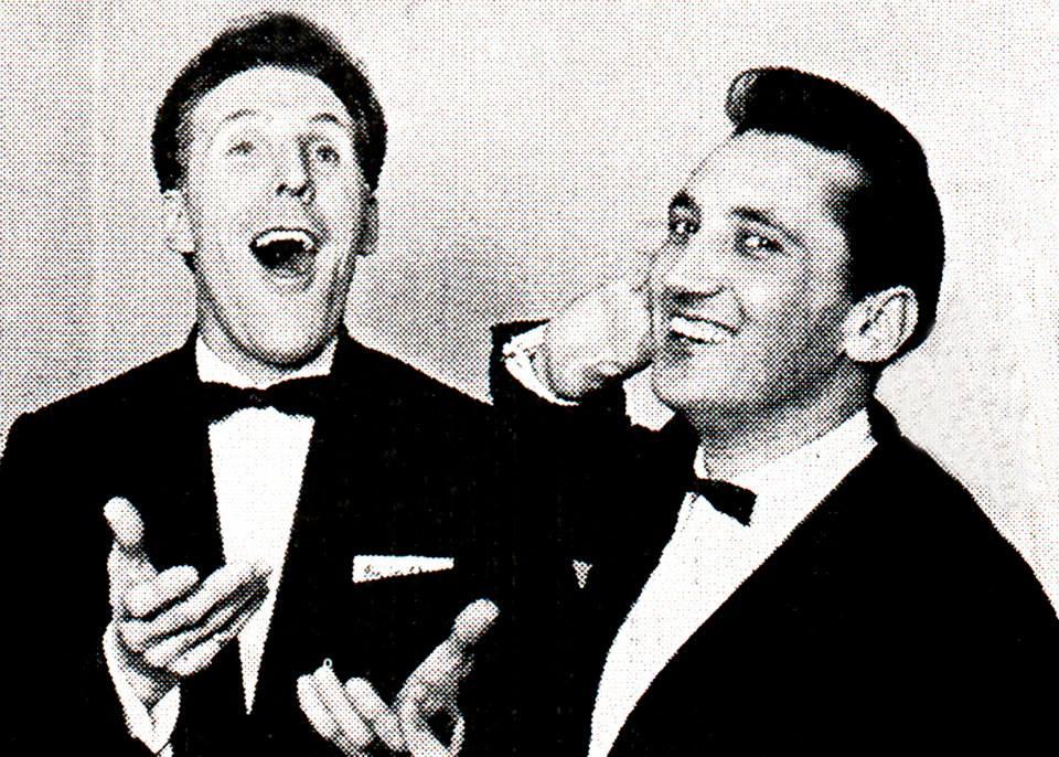 The entertainer Bruce Forsyth & Tino Valdi