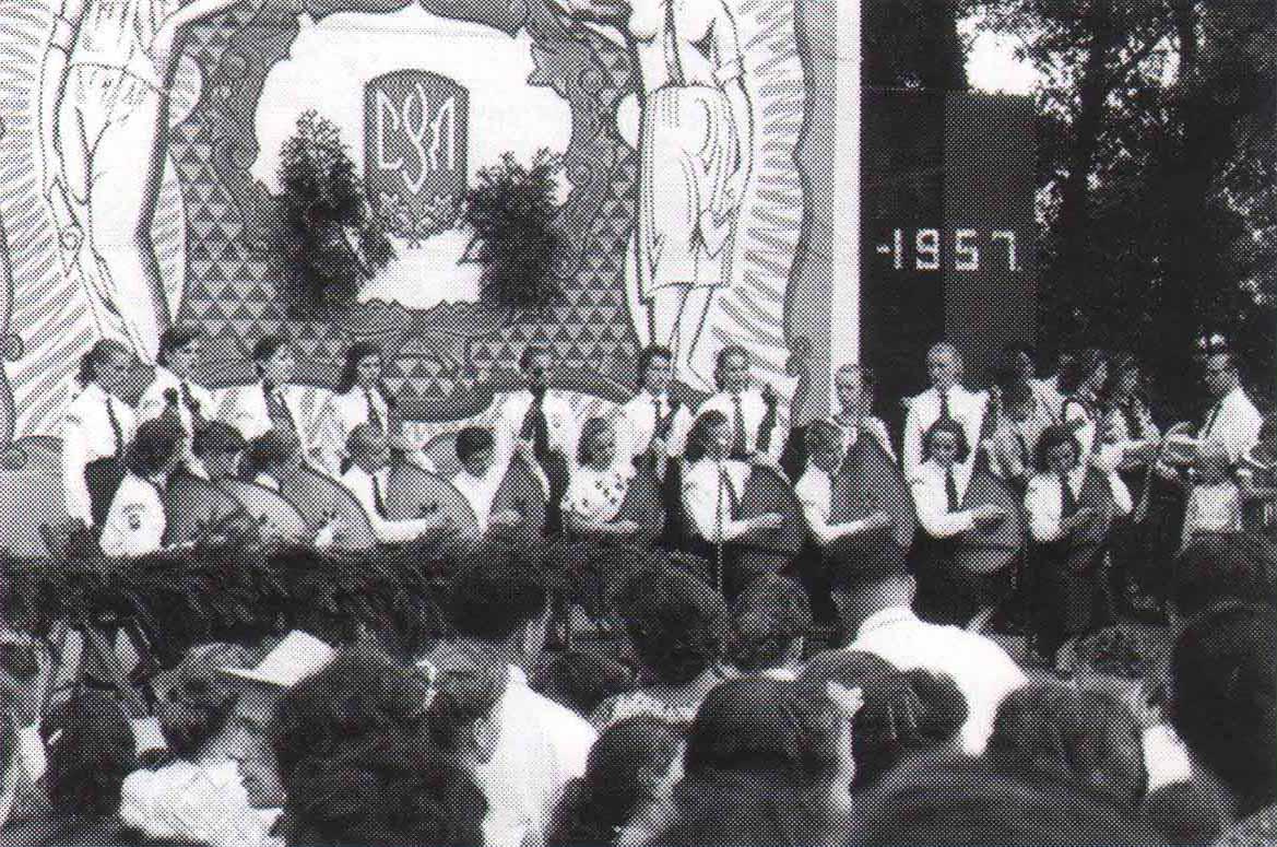 Капела бандуристок Спілки Української Молоді Америки